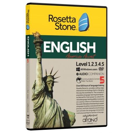 رزتااستون انگلیسی لهجه آمریکایی