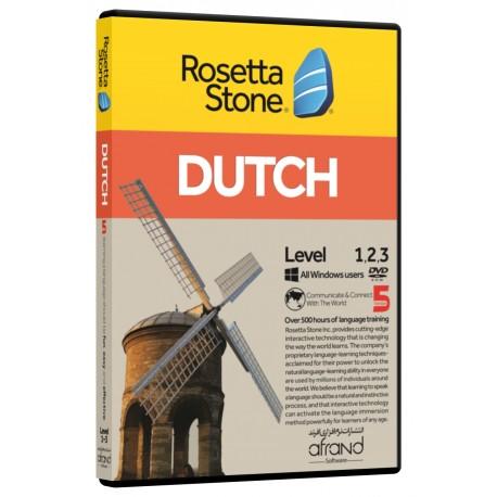 Rosetta Stone Dutch