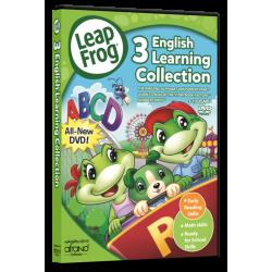 منتخب آموزش زبان انگلیسی لیپ فراگ LeapFrog - 3 English Learning Collection